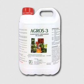 Abono biologico y fluidificante Agros-3 5 lt
