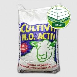 Abono organico CULTIVIT ACTIV PELLET (2000kg - Palet 50x40kg)
