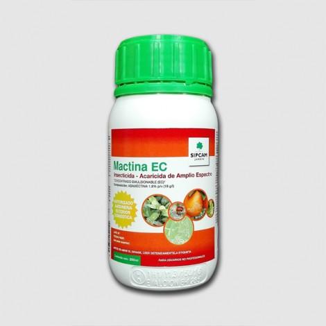 Insecticida MACTINA (Abamectina 1.8%) 250 cc