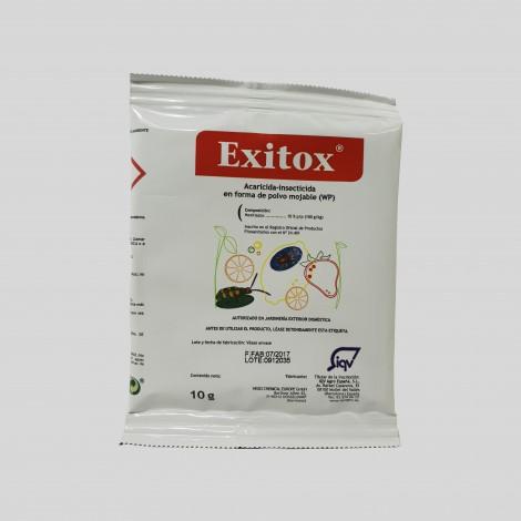 Insecticida ovicida acaros Exitox 10 gr JED