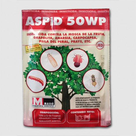 Insecticide Aspid 50WG (FOSMET 50%) 35g JED