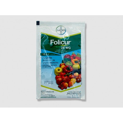 Systemic fungicide Folicur 16g 25WG