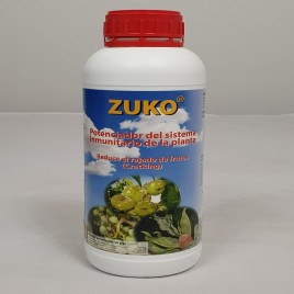 Protector contra hongos biologico para oidio Zuko 250 cc