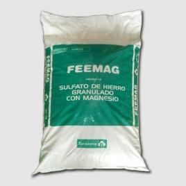 Engrais de sulfate de fer Feemag de 25 kg