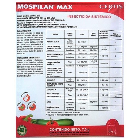 Insecticide Mospilan JED de 10g