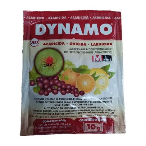 Insecticida ovicida acaros DYNAMO 10 gr JED