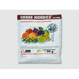Fungicida Cobre Nordox 75WG de 25 g JED