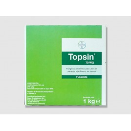 Fungicida Topsin WG 70 de 1 kg (Metil tiofanat 70%)