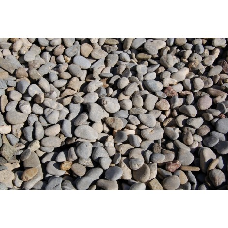 River gravel gray big bag 1200 kg.
