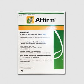 Insecticida Affirm 1 Kg (EMAMECTINA 0,855% (BENZOATO).