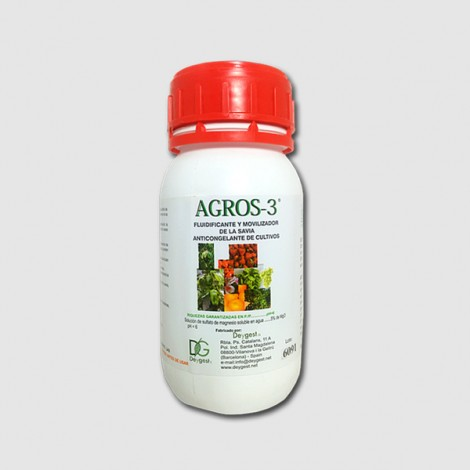 Abono biologico y fluidificante Agros-3 250 cc