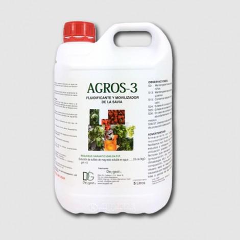 Abono biologico y fluidificante Agros3 5lt