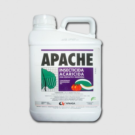 Insecticida Apache (ABAMECTINA 1,8%) 5L