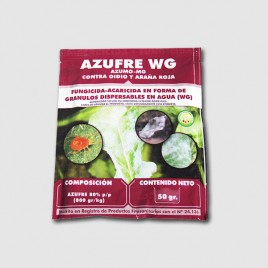 Insecticide Azufre WP de 50 g (AZUFRE 80%) JED