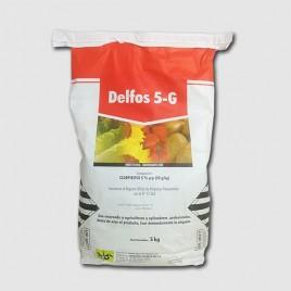 Insecticida DELFOS 5G granulado 5Kg (Clorpirifos 5%)