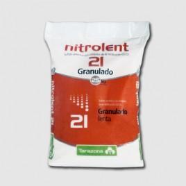 Abono Nitrolent granulado de 25 Kg