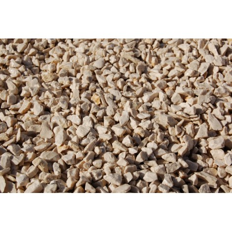 Crushed Gravel big bag ivory marble