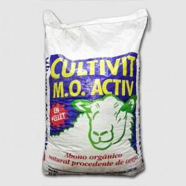 Abono organico CULTIVIT ACTIV PELLET ECOLOGICO 40 kg
