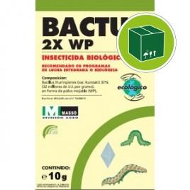 Insecticida biologico Bactur 2X WP CAJA 30x10g JED