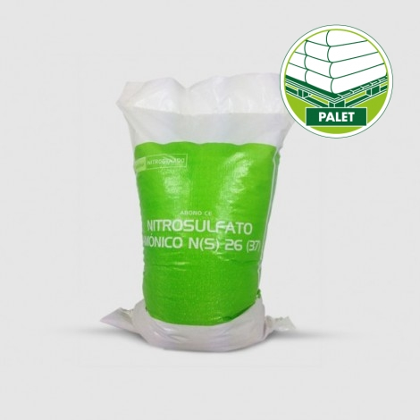 Fertilizer ammonium nitrosulfat 26% (1000kg - Palet 40x25kg)